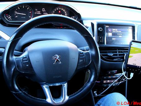 Fokus på mobiltelefoner og GPS'er i trafikken