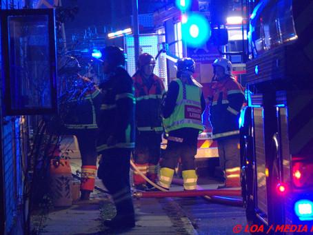 Køkkenbrand i bindingsværksejendom i Adelgade