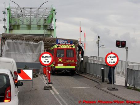 Nyt om Enø-broens lukning.