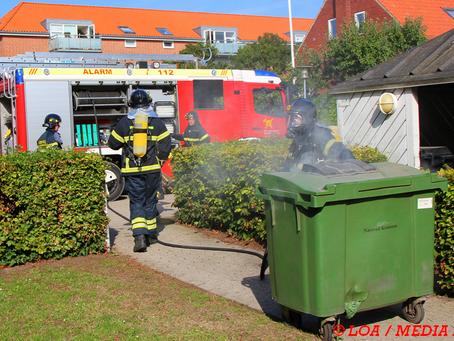 Containerbrand anmeldt på Indre Vordingborgvej