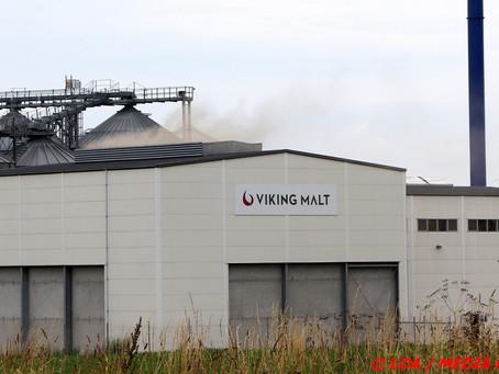 Brandalarm hos Viking Malt