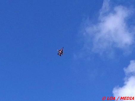 Dannebrogsflyets overflyvning af Vordingborg