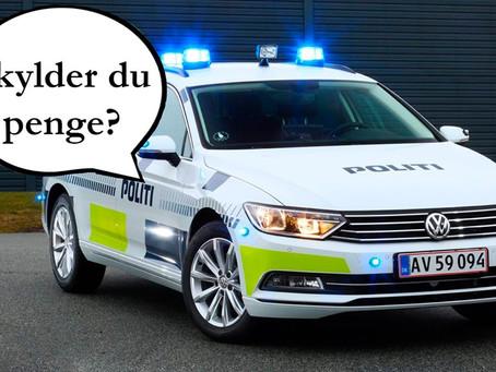 Politiet foretager fogedaktioner i den kommende tid