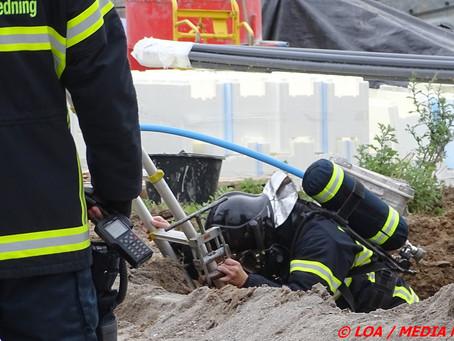 Gasledningsbrud på Dalvænget