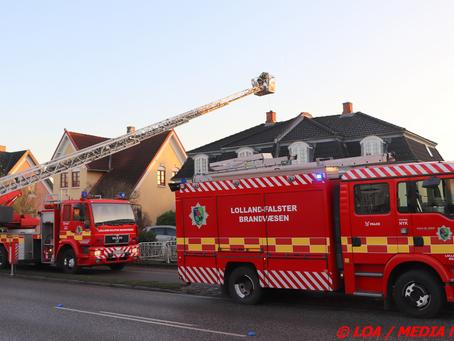 Skorstensbrand på Vesterskovvej
