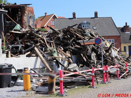 Undersøgelsen efter branden den 20. juni 2021 i Vordingborg er nu afsluttet