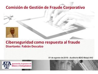 Ciberseguridad como respuesta al fraude