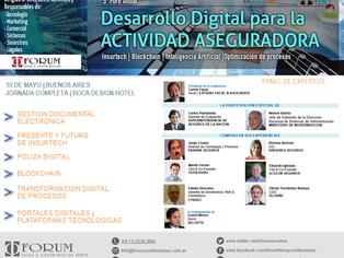 5° Foro Anual Desarrollo Digital para la Actividad Aseguradora - Buenos Aires