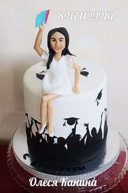 Торт для выпускницы