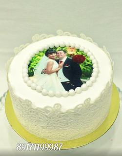 Свадебный торт с фото