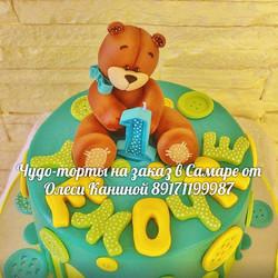 Торт с медведем