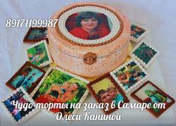 Торт с фотографиями