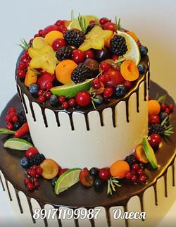 Торт ягоды