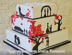 Торт романтичный