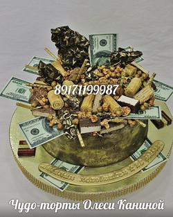 Торт с деньгами