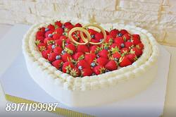 Торт кольца