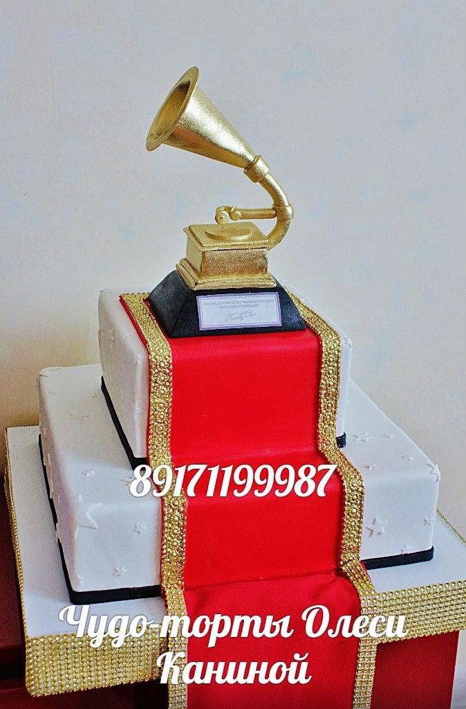 Торт грамофон
