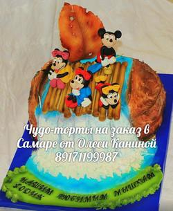 Торт мики маус