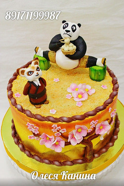 Торт панда