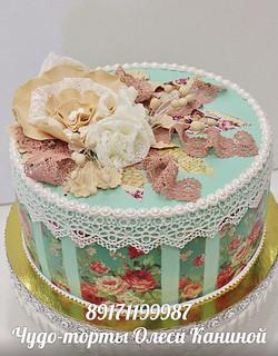Нежный торт маме