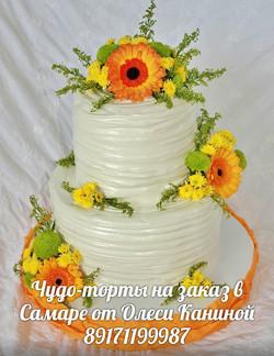 Торт на свадьбу