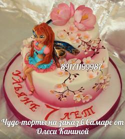Торт с вингс