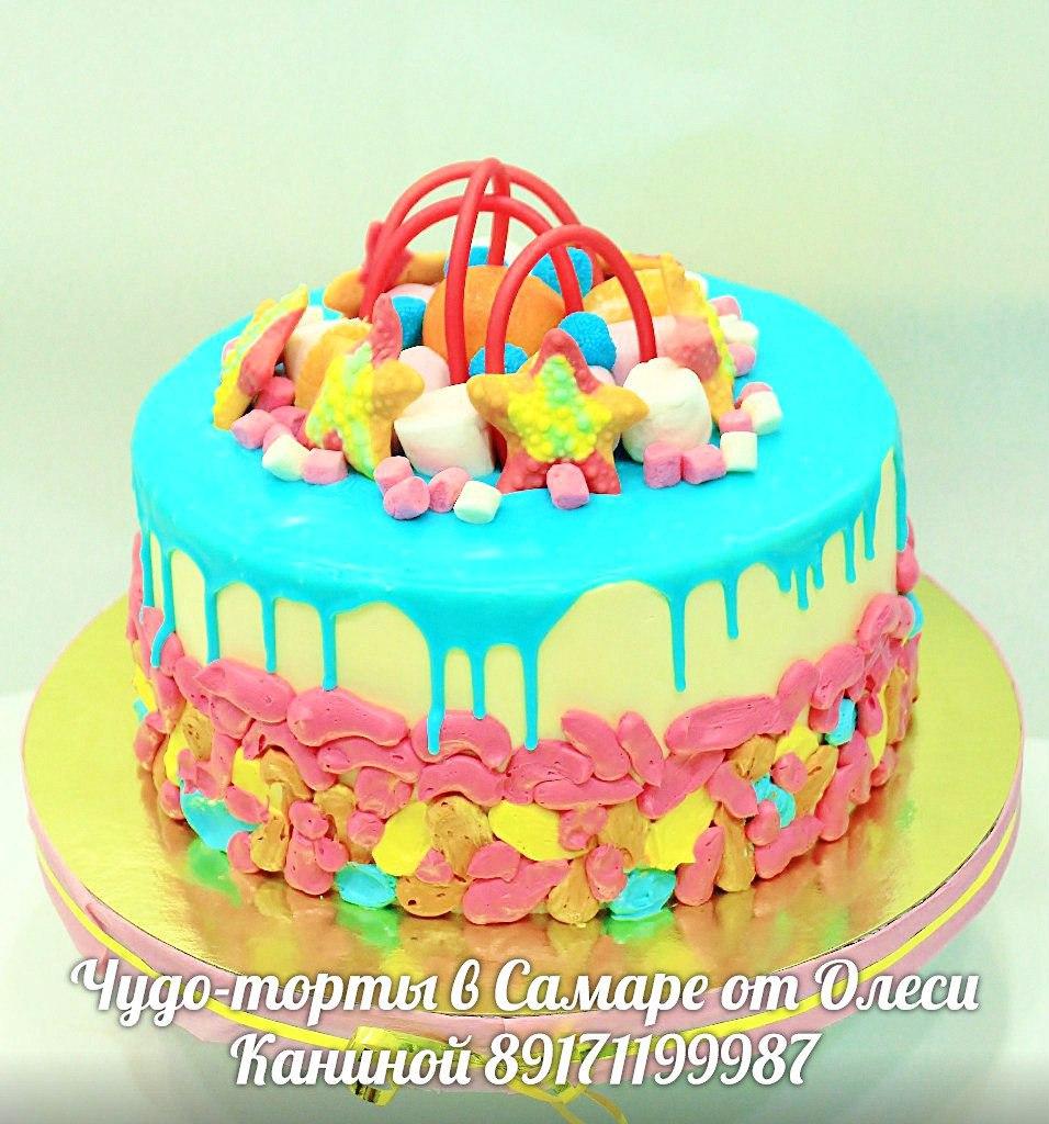 Торт маршмелоу