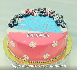 Зимний торт любимой