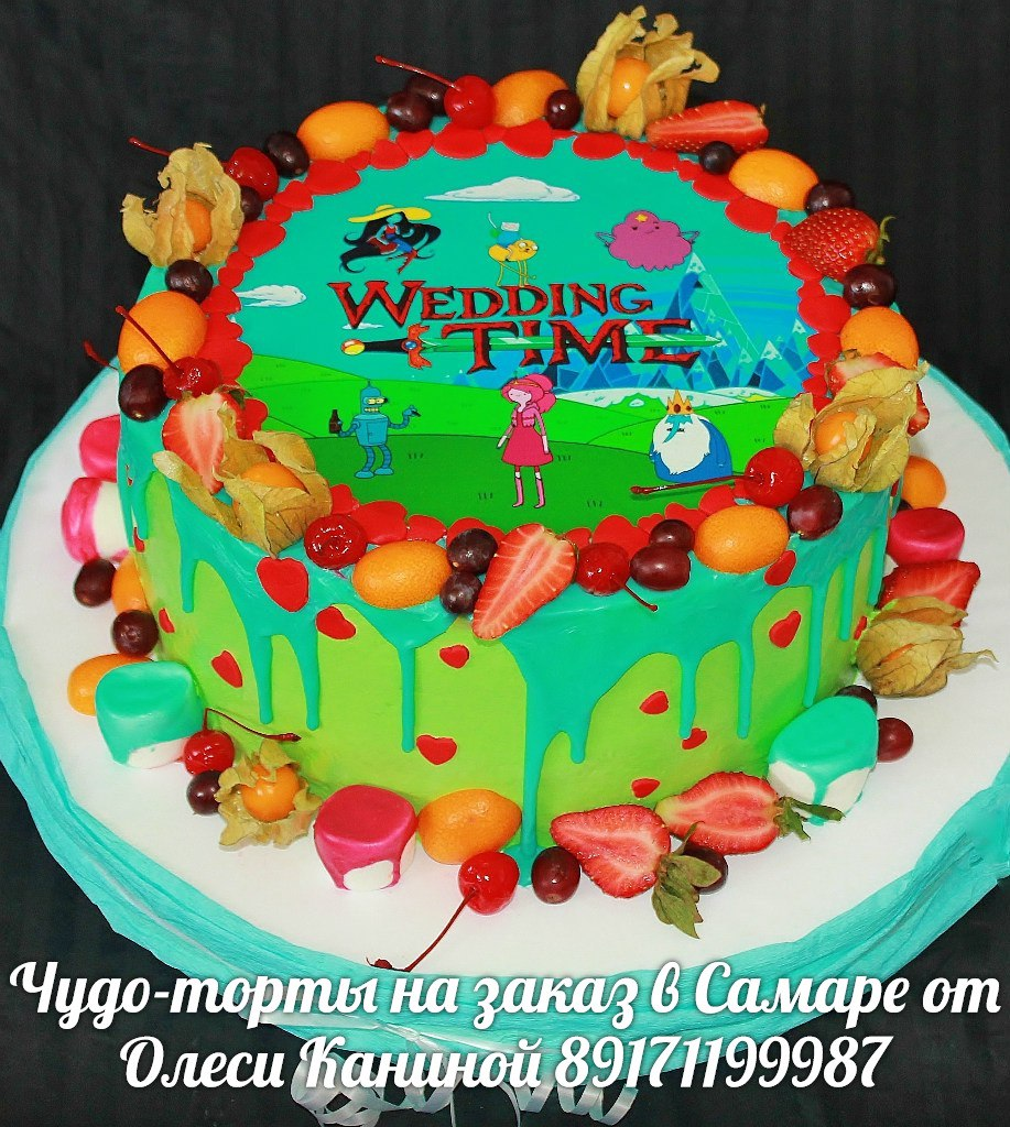 Торт wedding time
