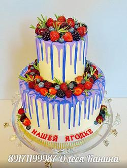 Торт ягодки