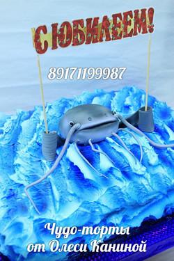 Торт с сомом