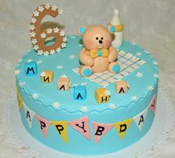 торт на 6 месяцев