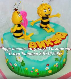 Торт пчелки