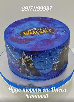 Торт warcraft
