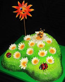 Торт солнечный денек