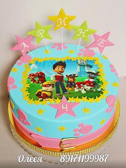 Торт по мультфильму