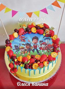 Торт мультфильм