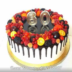 Торт 60 лет