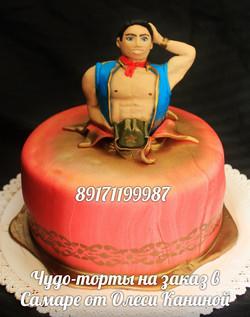Торт с мужчиной
