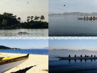 Equipes de canoa havaiana representam a Ilha do Governador na 1ª Etapa do Campeonato Estadual
