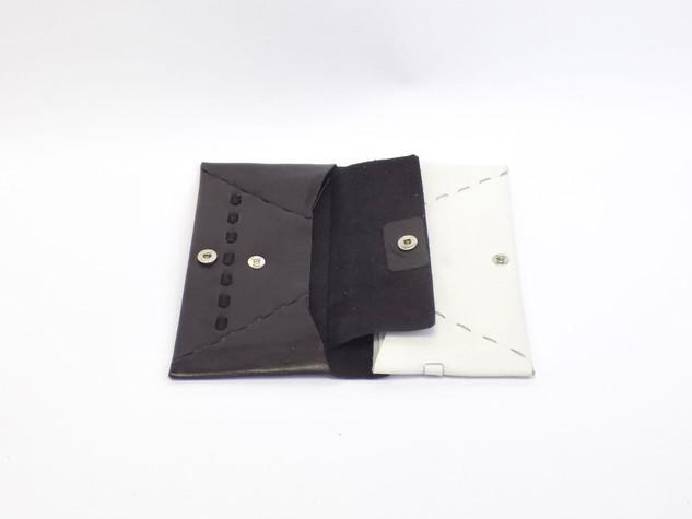 long wallet black×white