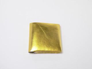 bi-fold wallet gold×silver