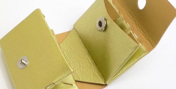 三つ折り財布  ゴールド  ES-3W