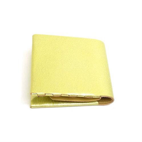 二つ折り財布  ゴールド  ES-2W
