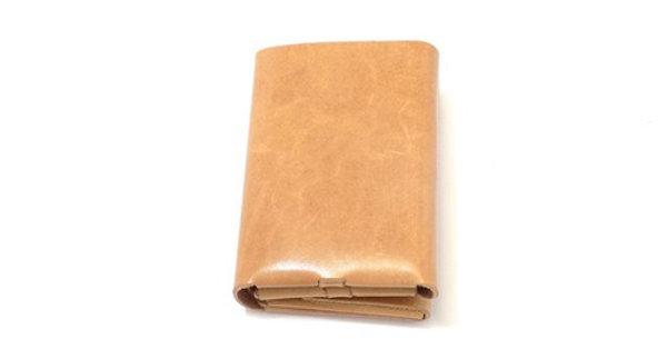 三つ折り財布  ヌメ  ES-3W