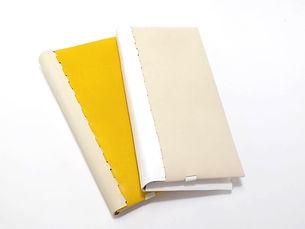 二つ折り財布色組み合わせサンプル