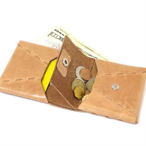 二つ折り財布  ヌメ  ES-2W