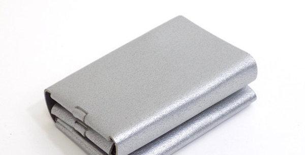 三つ折り財布  シルバー  ES-3W
