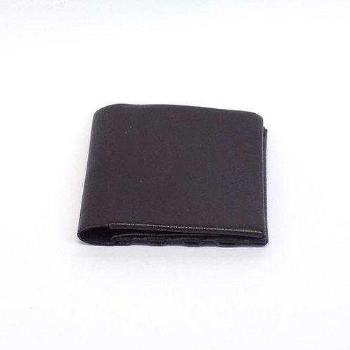 二つ折り財布  ブラック  ES-2W