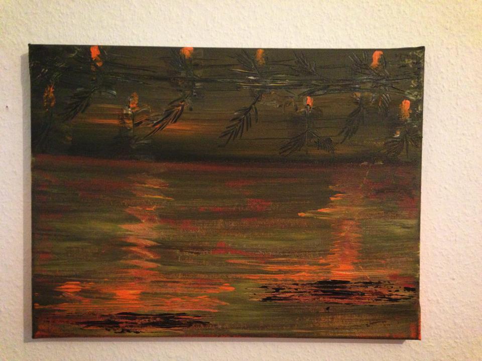 sunset     vendu
